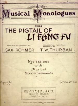 the pigtail of li fang fu musical monologues no 199