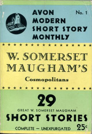 Somerset Maugham. THE BUM