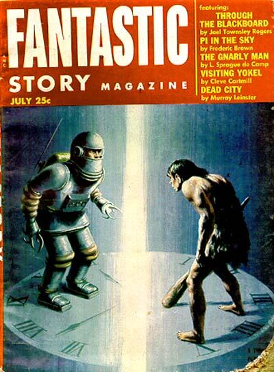 Fantastic Story Magazine 1950 Pulp Comic Books: Fantastic Story Quarterly